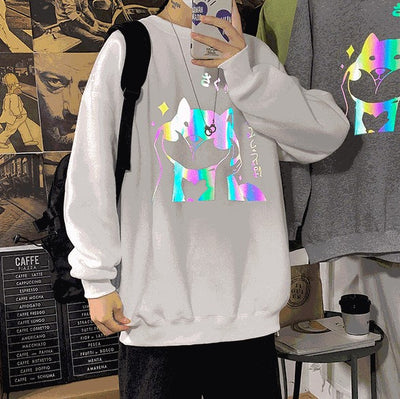 Chubby Pup Reflective Hoodie