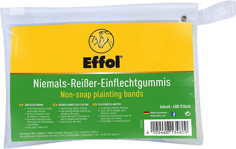 Effol Non-Snap Plaiting Bands Black