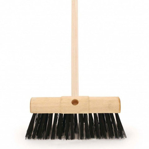 Long Hair Yard Broom 14in