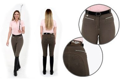 Rugged GS5 Ladies Brown Breeches