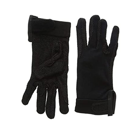 Shires Adult Newbury Gloves Black