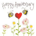 Alex Clark Anniversary Bee Card