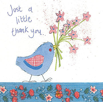 Alex Clark Thank You Bird Cards