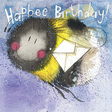Alex Clark Bees Sparkle Birthday Card