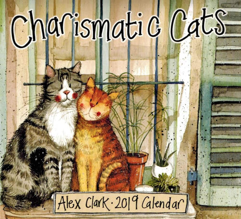 Alex Clark Charismatic Cats 2021 Calender