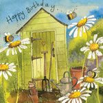 Alex Clark Garden Hut Card