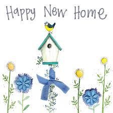 Alex Clark Happy New Home Card