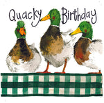 Alex Clark Happy Mallards Birthday Card