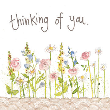 Alex Clark Thinking Of You Card