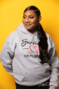 Survivor On Purpose Signature Hoodie