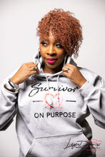 Load image into Gallery viewer, Survivor On Purpose Signature Hoodie