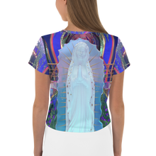 Load image into Gallery viewer, Our Lady Crop Tee