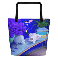 Load image into Gallery viewer, Skull Tote Bag