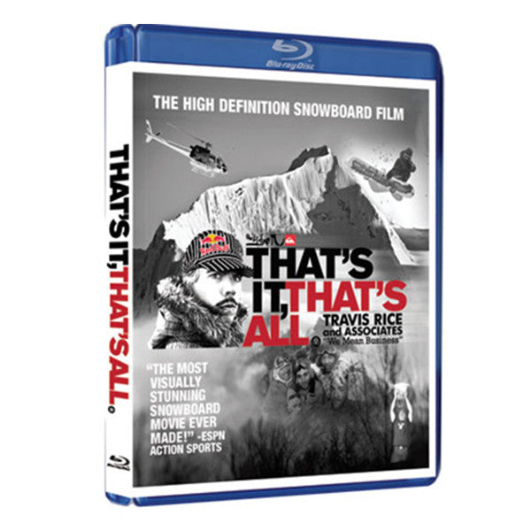 """That's It That's All"" DVD/Blu-ray"