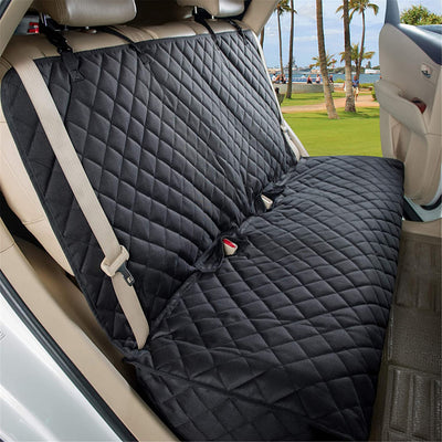 Bench Car Seat Cover Protector - Waterproof, Heavy-Duty and Nonslip Pet Car Seat Cover for Dogs with Universal Size Fits for Cars, Trucks & SUVs - Dog Joy Deals