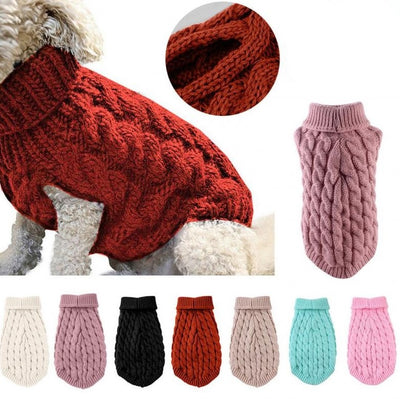 Winter Warm Sweater Vest - Dog Joy Deals
