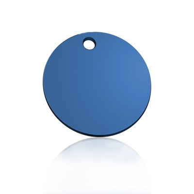 Personalized Anodized Aluminum ID Tag - Dog Joy Deals