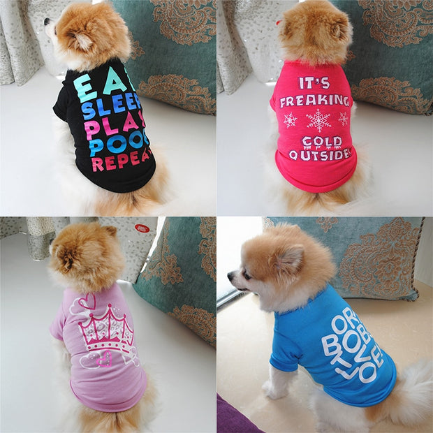 Adorable Personality Shirts For Dogs - Dog Joy Deals
