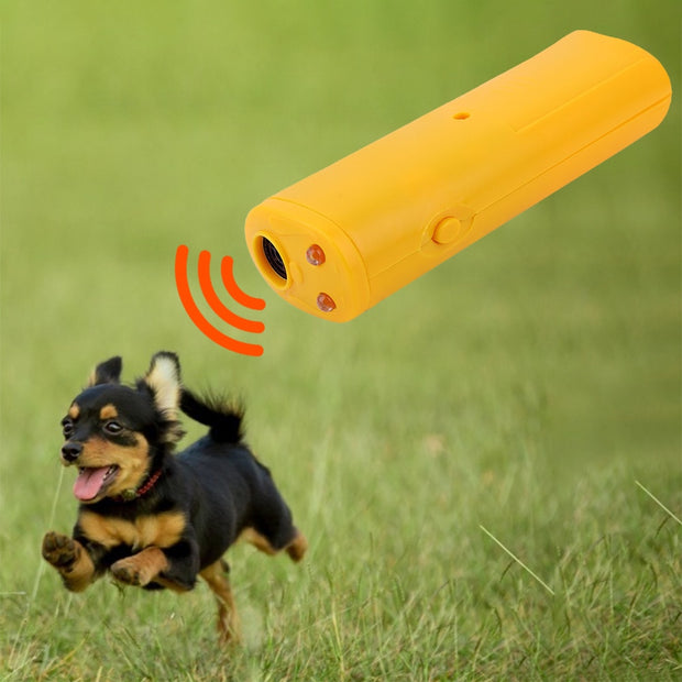 Anti-Barking Ultrasonic Training Remote - Dog Joy Deals