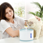 Automatic Fountain Water Feeder - With LED Water Level Display - Dog Joy Deals