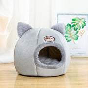 Winter Comfort Cozy Cave Bed - For Small Dogs - Dog Joy Deals