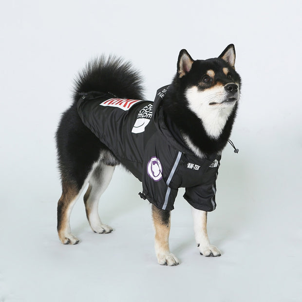 """The Dog Face"" Fashionable Dog Jacket"