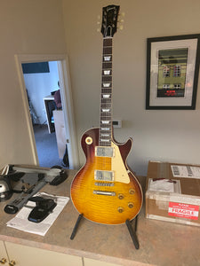 SOLD - Gibson Les Paul R9 Historic 1959 Reissue Factory Aged 2018 - SOLD