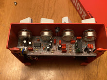Load image into Gallery viewer, SOLD - Sioux Guitars Dakota County delay pedal first edition #33 Red