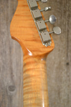 Load image into Gallery viewer, Karge Guitars 2 Cut S-Style Faded Fiesta Red Klein Pickups