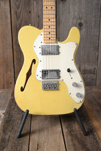 "Load image into Gallery viewer, SOLD - Danocaster Pre Freakin"" Era Fender 72 Thinline Circa 2001"