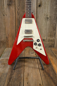 SOLD - Gibson Flying V 1982 Candy Apple Red