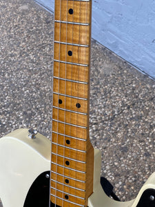 SOLD - Glendale Blackguard Telecaster 2008 AAA Flamed Neck