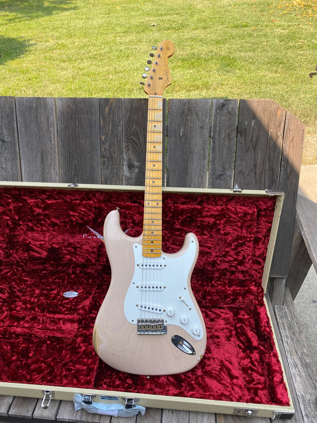 Fender Stratocaster Limited 1955 Relic Custom Shop 2019 Blonde