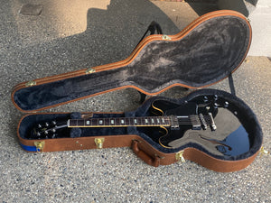 SOLD - Gibson ES-335 Memphis Traditional Black ESDP18VENH1 2018 - SOLD