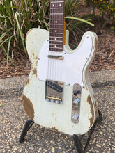 Load image into Gallery viewer, Sold - Fender Telecaster Custom 1960 Heavy Relic Oly White 2018 - SOLD