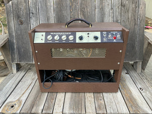 "SOLD - Magnatone Twilighter 1x12"" guitar combo amp"