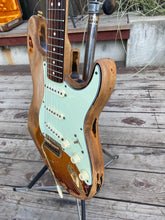 Load image into Gallery viewer, SOLD - Fender SRV Stratocaster Special Edition Non-Factory Relic 1993 - SOLD
