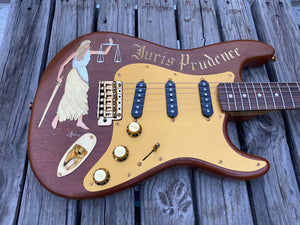 Fender Stratocaster Custom Shop One-Off George Amicay Hand Carved - SOLD