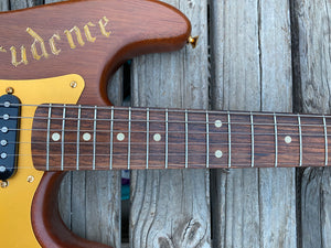 SOLD - Fender Stratocaster Custom Shop One-Off George Amicay Hand Carved