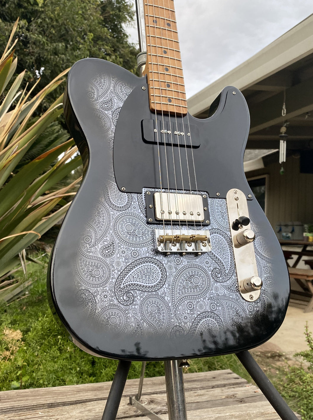 LSL Instruments Bad Bone 290 Limited Paisley Run Telecaster Non Aged - NEW