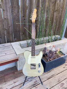 SOLD - Danocaster Single Cut 2020 Inca Silver