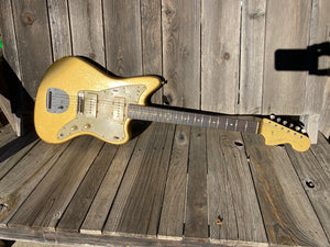 Danocaster Offset Prototype 2020 Jazzmaster Gold Sparkle