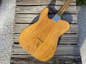 SOLD - Danocaster '72 Thinline 2020 Fender CuNiFe pickup loaded