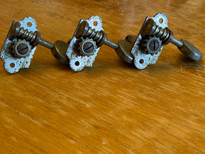 Grover Sta Tite Nickel 3+3 individual tuners 1950's Gretsch, Martin etc