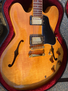 SOLD - Gibson ES-335 DOT Reissue 1984 Blonde Natural SOLD