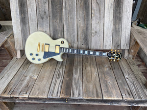 SOLD - Gibson Les Paul Custom White Custom Shop 2008 - SOLD