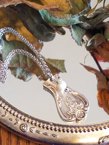 Antique Silverware Pendants