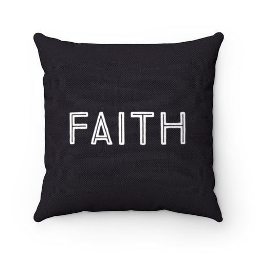 Faith Pillow Black