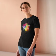 Load image into Gallery viewer, Law of Attraction Women's Premium Tee - 2021 New Year New Vibe