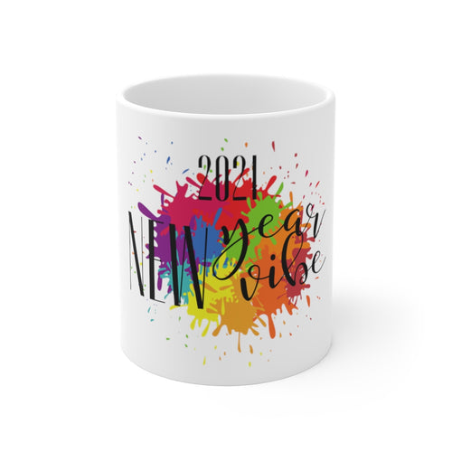 Law of Attraction Mug - 2021 New Year New Vibe